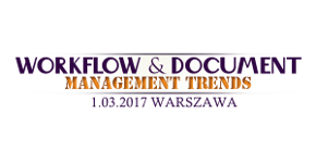 Bezpłatna Konferencja – WORKFLOW & DOCUMENT MANAGEMENT TRENDS