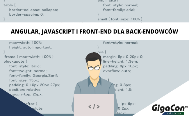 Angular, JavaScript i front-end dla back-endowców